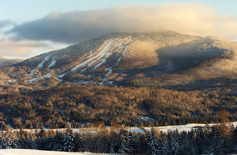 Burke Mountain ski area is seen in Burke, Vt. The president of Vermont's Jay Peak resort and his longtime business partner have bought another northern Vermont ski area, Burke Mountain. Bill Stenger and Ari Quiros took possession of Burke Mountain from the Florida-based Ginn Corp. real estate holding company on Tuesday for an undisclosed price.