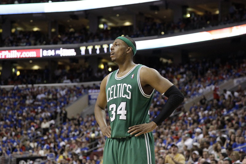 Paul Pierce was with the Celtics before they were the Big 3, and chances are he'll be with them when their five-year run together comes to an end.