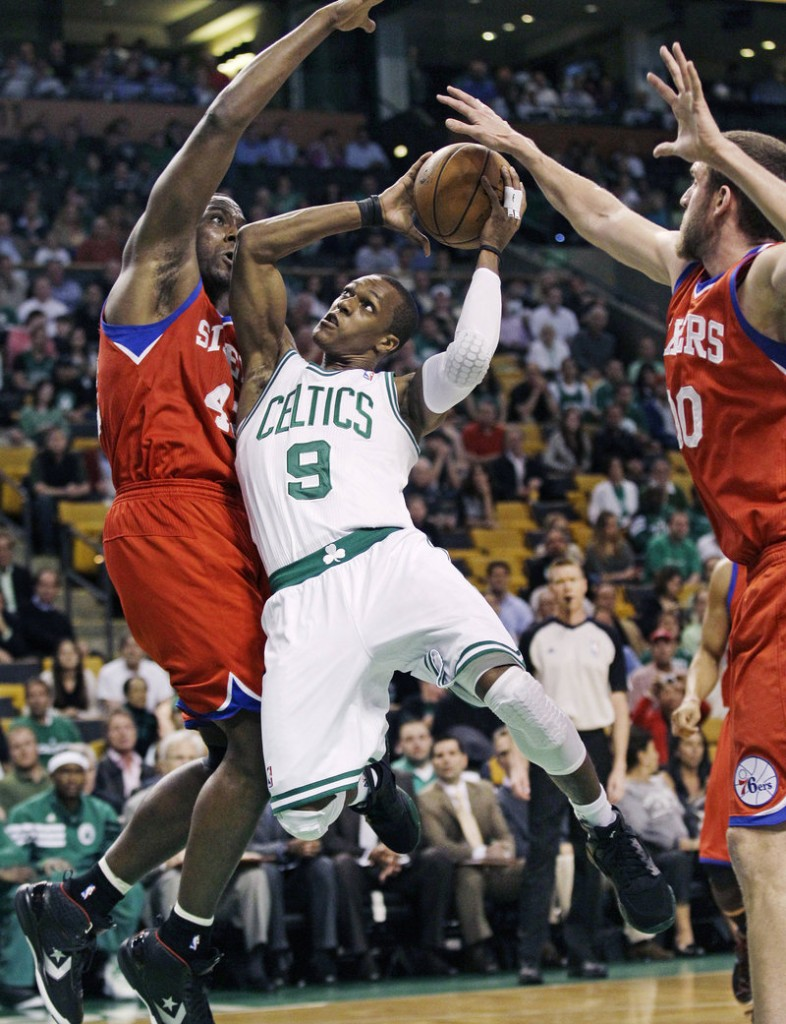 Rajon Rondo will need to play a pivotal role tonight for the Boston Celtics – not just directing the offense but playing tough defense against the top Sixers guard on the court.
