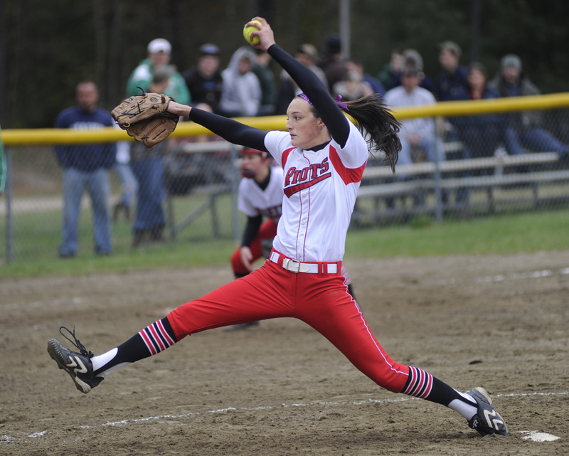 Erin Bogdanovich continued her string of pitching success for South Portland. She has thrown three straight shutouts, allowing six hits against Massabesic.