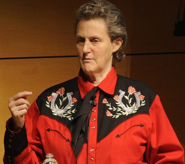 """Half of the Silicon Valley executives have some degree of autism,"" says Temple Grandin."