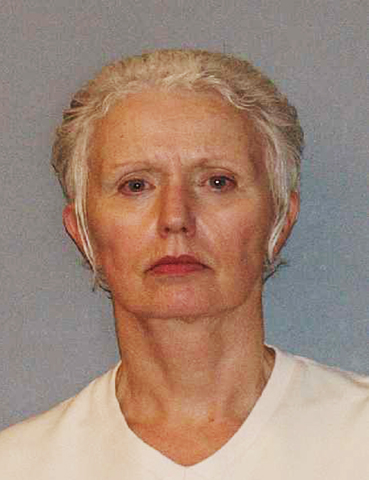 This undated photo provided by the U.S. Marshals Service shows Catherine Greig. Greig, the longtime girlfriend of Whitey Bulger, one of the FBI's Ten Most Wanted fugitives who was captured June 22, 2011, was apprehended along with Bulger and charged with harboring a fugitive. (AP Photo/U.S. Marshals Service) Catherine Greig
