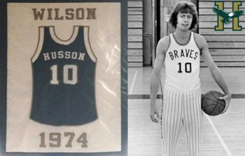 Husson University basketball star Dana Wilson.