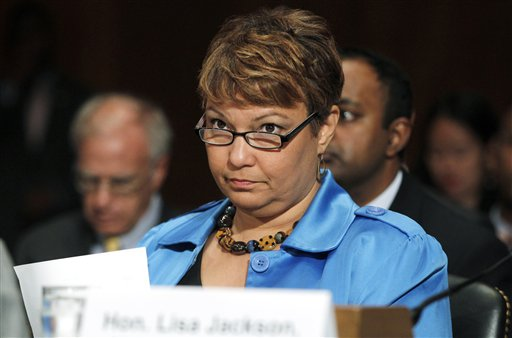 EPA Administrator Lisa Jackson testifies before the Senate Committee on Environment and Public Works in this June 2011 photo.