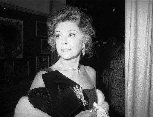 A Nov. 5, 1971, photo of Ann Rutherford in New York.