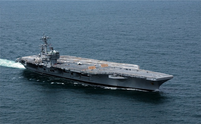 The USS George H.W. Bush is the 10th and final Nimitz-class supercarrier. It is homeported in Newport News, Va.