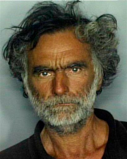 This undated booking mug made available by the Miami-Dade Police Dept. shows Ronald Poppo. Poppo has been identified as the victim in a horrific face-chewing attack in Miami on Saturday, May 26, 2012. An officer fatally shot 31-year-old Rudy Eugene, as he ate the face off Poppo in the shadow of The Miami Herald�s headquarters. (AP Photo/Miami-Dade Police Dept.)