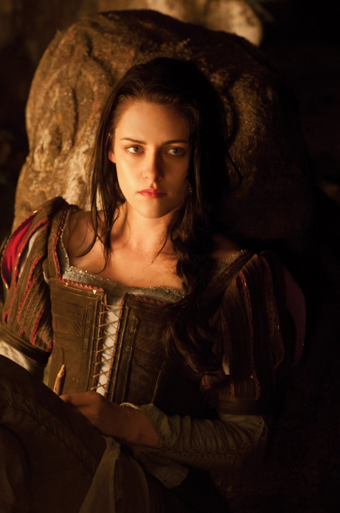 Kristen Stewart as Snow White in the new retelling of the 19th-century fairy tale.
