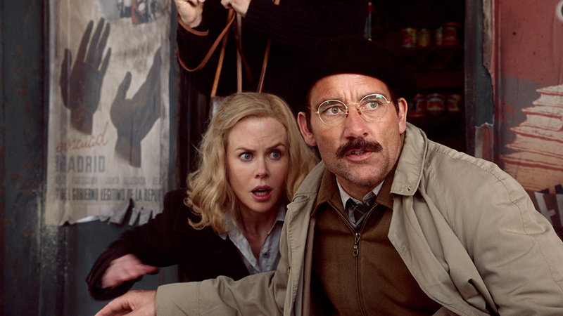 Kidman and Owen as Hemingway and Gellhorn.