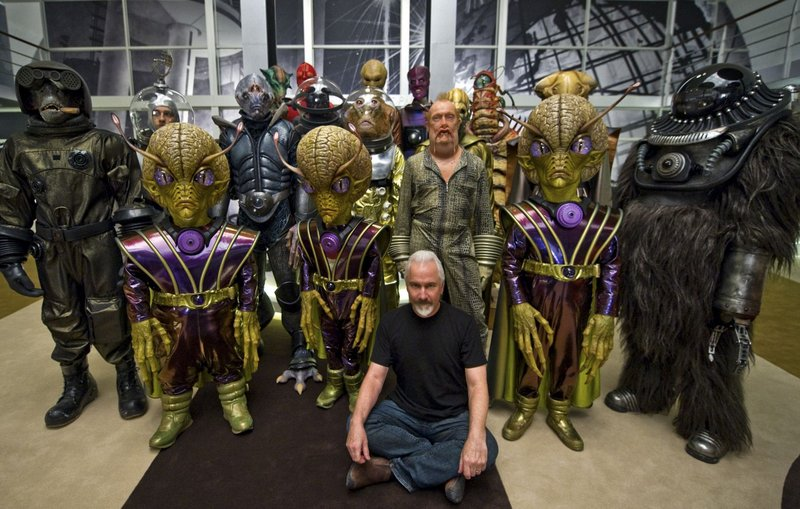 """Rick Baker, who started in the business of makeup, visual effects and monster construction 40 years ago as an apprentice on """"The Exorcist,"""" is seen on the set of """"Men in Black 3,"""" where his latest work is on display."""