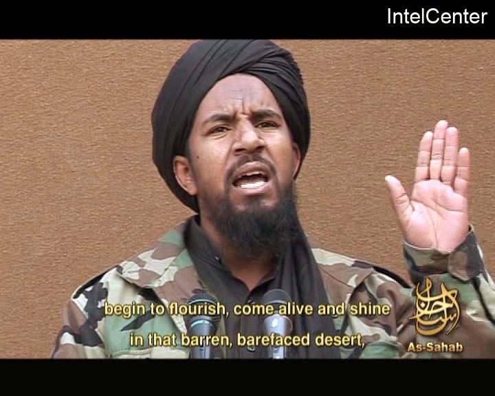 Abu Yahya al-Libi in a 2007 image from a website popular with Islamist militants. He was killed Monday.