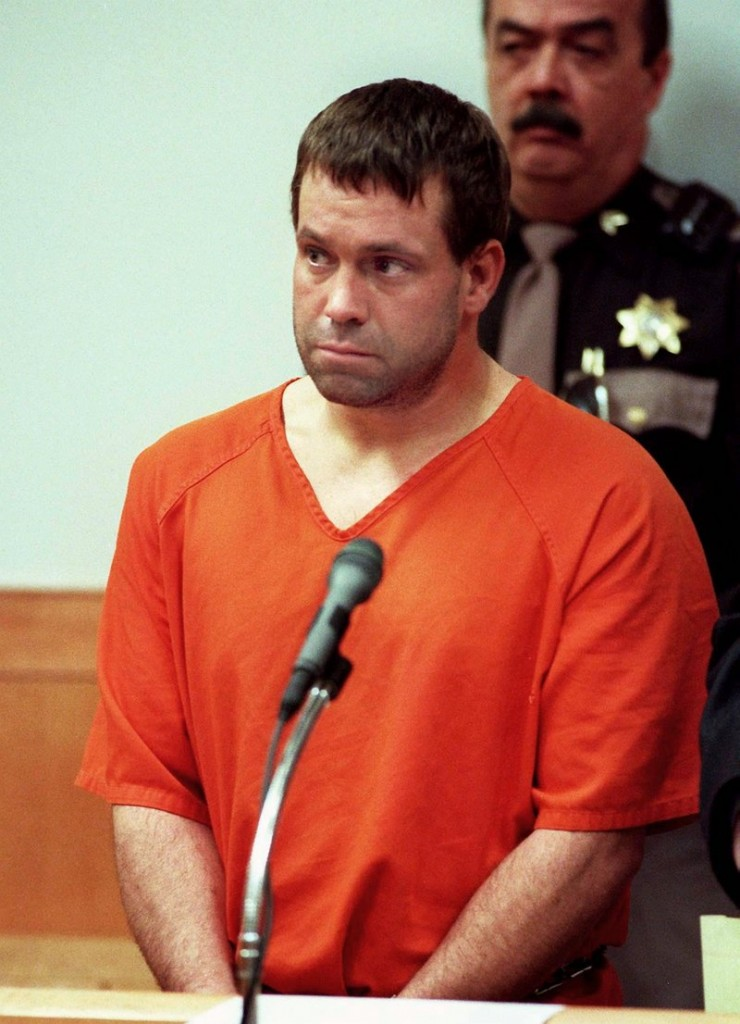 Steven Brown, appearing in a Biddeford court in 1999, was serving multiple life sentences for killing two men and abducting his estranged wife.