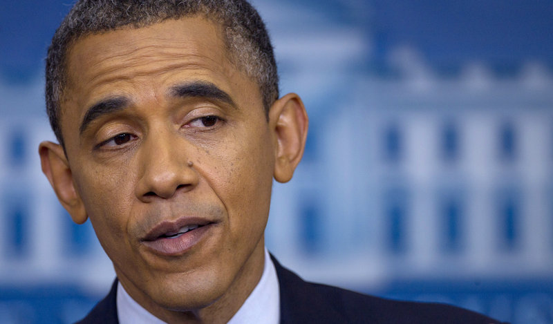 "President Barack Obama referred to the private sector as ""doing fine"" compared to the public sector on Friday ..."
