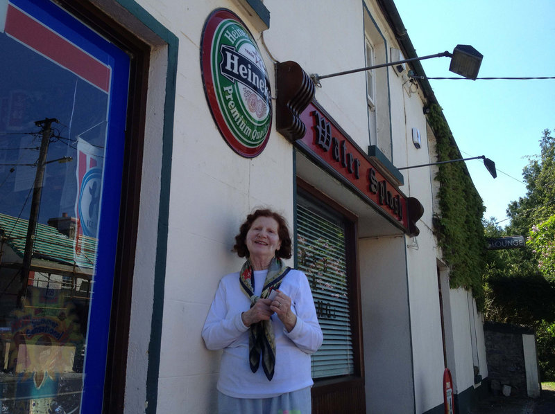 Dymphna O'Regan, who owns one of two pubs in Cootehall, Ireland, with her husband, deplores the glut of construction in the village – but in 2007, her family sold 3 acres of land to developers for about $1.25 million. The development, Linden Wood, is in receivership.