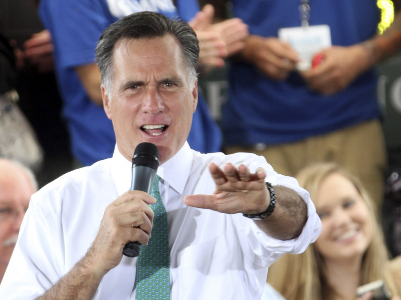 Republican presidential candidate Mitt Romney has yet to start traveling daily with the journalists who are assigned to cover him.
