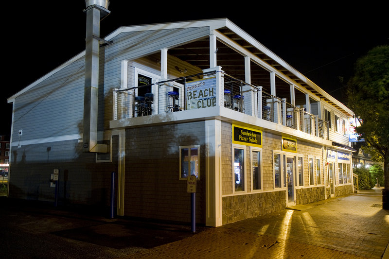 Weekend at Bernie's Beach Club, located upstairs at 8 West Grand Ave. in Old Orchard Beach, may be easy to miss from street level, but it's sure to be bustling when locals and tourists hit the sand this summer.