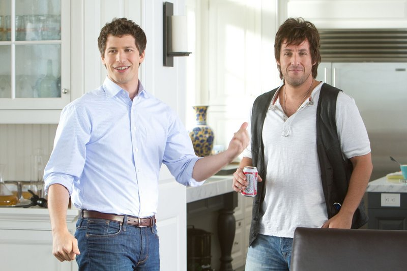 """Andy Samberg, left, and Adam Sandler in """"That's My Boy."""""""
