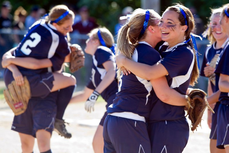Fryeburg Academy is headed to the Class B softball state championship game for the fifth year in a row after using an eight-run fourth inning to beat Greely 8-1 in the Western Maine final.