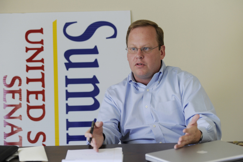 "Lance Dutson, campaign manager for U.S. Senate candidate Charlie Summers: ""In Maine, I figured that all you need to do is start a blog, be a little sarcastic, stick to your guns and you can become a voice."""