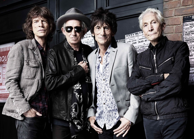The Rolling Stones, from left, Mick Jagger, Keith Richards, Ronnie Wood and Charlie Watts, on Thursday marked the 50th anniversary of the band's first performance on July 12, 1962 in London.