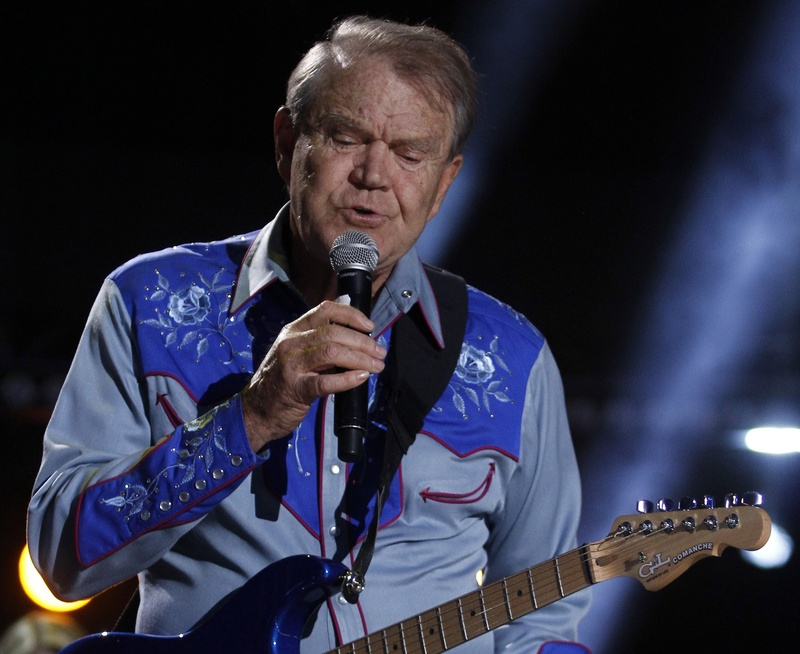 Glen Campbell brings his Goodbye Tour to Merrill Auditorium in Portland on Oct. 16. Tickets go on sale at noon Friday.
