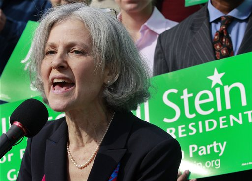 Jill Stein, who ran against Mitt Romney for governor of Massachusetts a decade ago, is poised to challenge him again – this time, when she faces off against both Romney and incumbent Barack Obama for president as the Green Party's candidate.