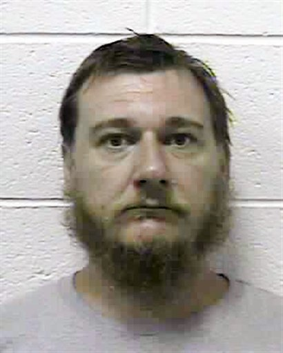 This photo provided by the South Central Regional Jail in Charleston W.Va., shows Peter Lizon from Leroy W. Va. Authorities say Lizon tortured and enslaved his wife for much of the past decade, forcing her to endure two pregnancies and deliveries in shackles. Lizon was in jail Wednesday on $300,000 bond. He was scheduled for a preliminary hearing on a malicious wounding charge Friday morning in Jackson County Magistrate Court. Chief Deputy Tony Boggs said 43-year-old Stephanie Lizon endured more suffering than virtually any domestic violence victim he's seen. (AP Photo/South Central Regional Jail)
