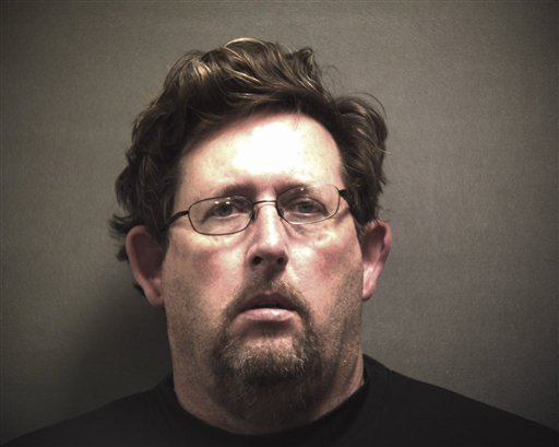 A photo shows David Neal Shepard, who was arrested with Thomas Michael Dixon in connection with the murder of Dr. Joseph Sonnier III of Lubbock, Texas. Sonnier was found dead Thursday.