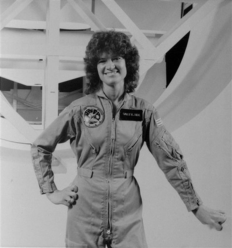 Sally Ride, first American woman in space, dies at 61 ...