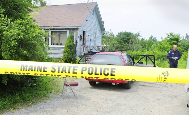 On Saturday morning, State Police investigate the death of James Dodge that occurred Friday night at 324 Hanson Road in China.