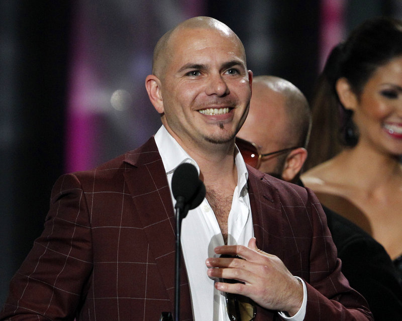 "In a marketing deal, Walmart will send Miami rapper Pitbull, aka Armando Christian Perez, to the store that gets the most ""likes"" on its Facebook page. Right now, the leading candidate is Kodiak, Alaska."