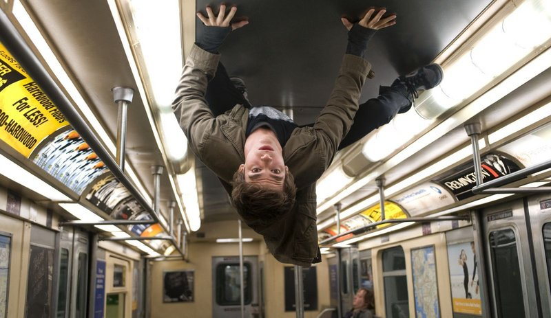 A bite from a radioactive spider turns the world of Peter Parker (Andrew Garfield) upside-down.