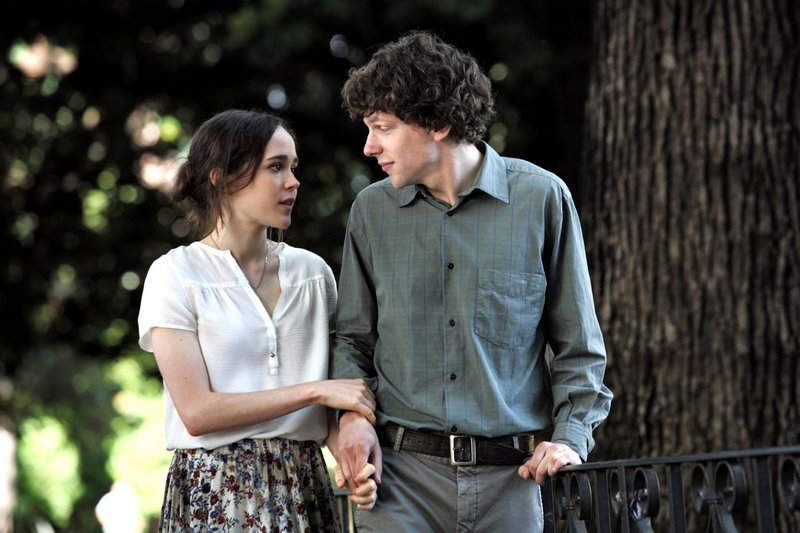 "Ellen Page and Jesse Eisenberg in ""To Rome with Love."""