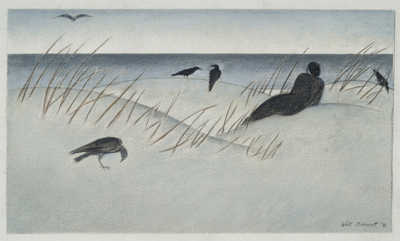 """Kittery Point"" by Will Barnet"