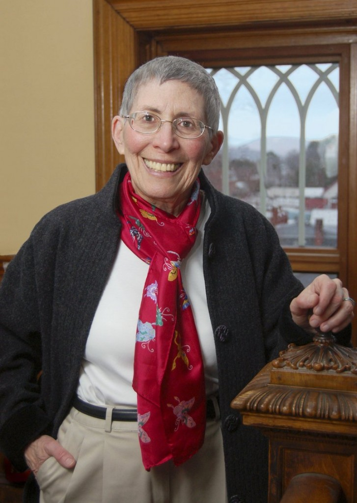 Theodora Kalikow was president at the University of Maine-Farmington for 18 years before retiring June 30.