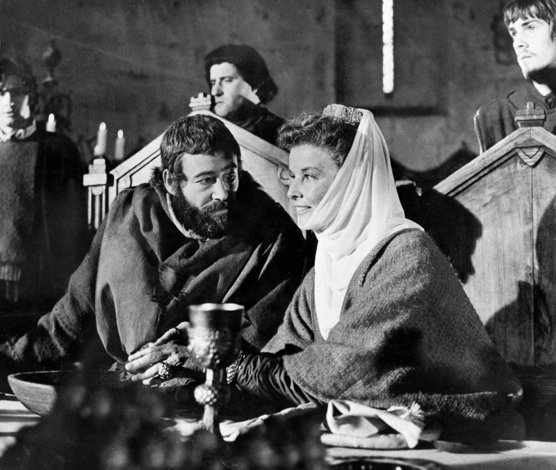 "Peter O'Toole portrays King Henry II in ""The Lion in Winter."" The film brought him one of his eight Oscar nominations, but he never won Hollywood's top honor."