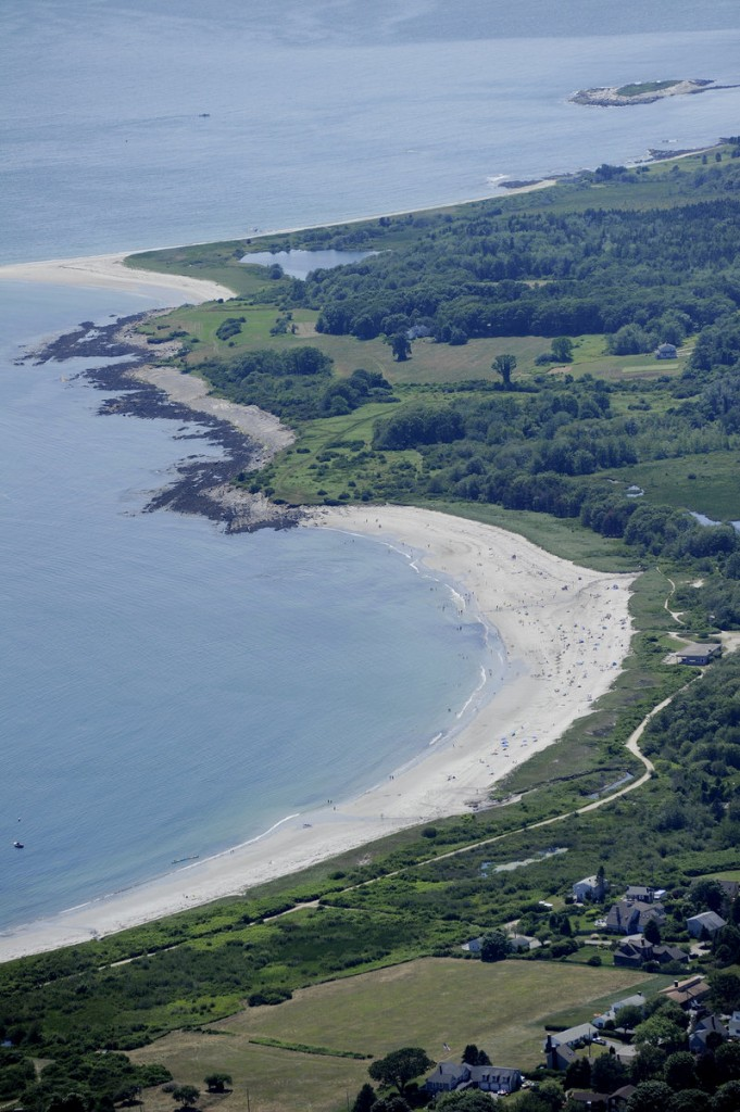 Population control is vital to keeping the ocean from encroaching on Maine beaches, a guest columnist contends.
