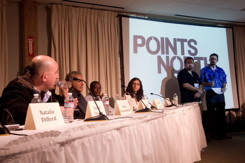 The Points North Pitch brings major players in the worldwide documentary industry to Camden to hear Mainers explain their current work.