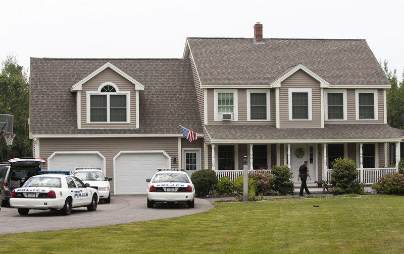 Police on Saturday were at the scene of a shooting at 8 Mountview Drive in Gorham. A 14-year-old boy was hospitalized.