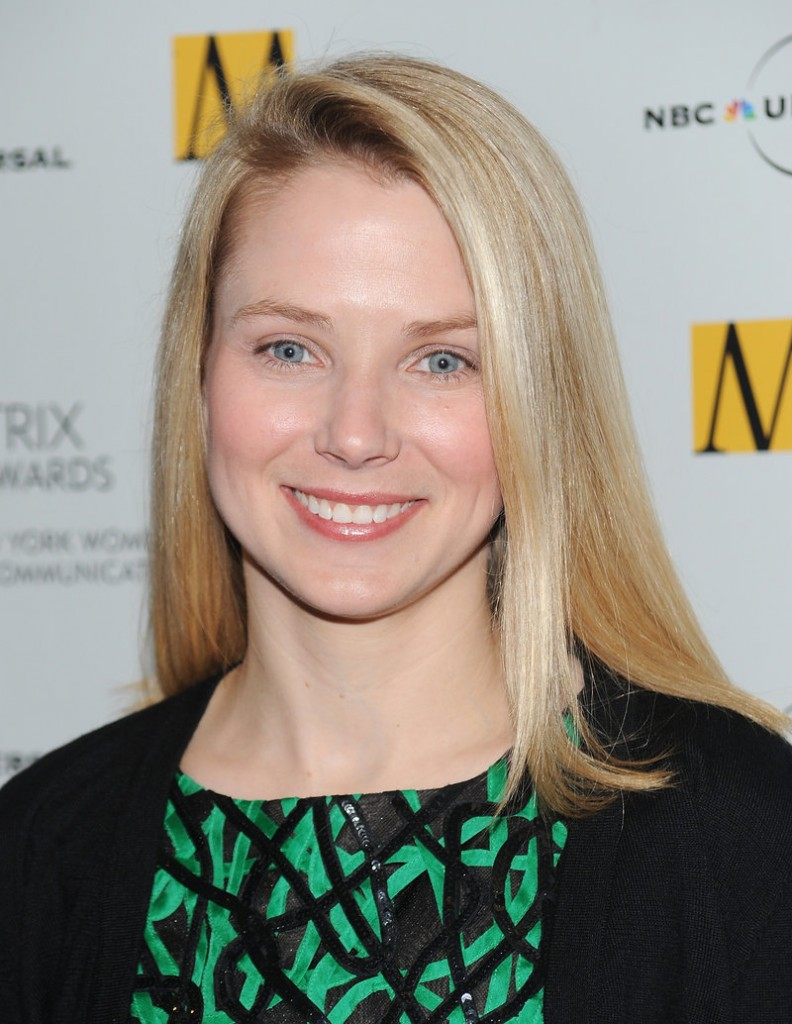 Stanford graduate Marissa Mayer, 37, was Google's first female engineer and oversaw some of Google's most popular products.
