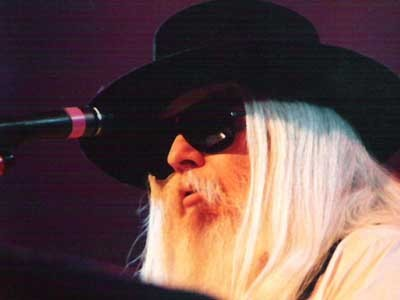 Leon Russell plays Friday and Sunday in Maine.