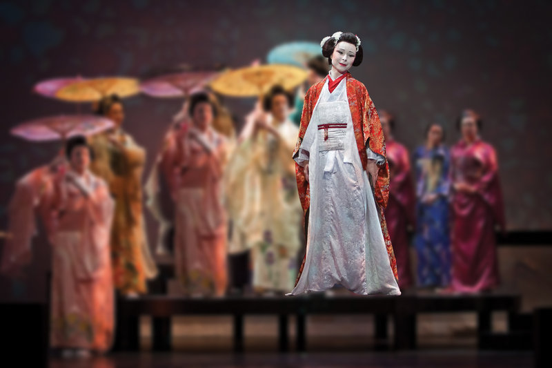 """Madama Butterfly,"" presented by PORTOpera, opens Wednesday at Merrill Auditorium in Portland."