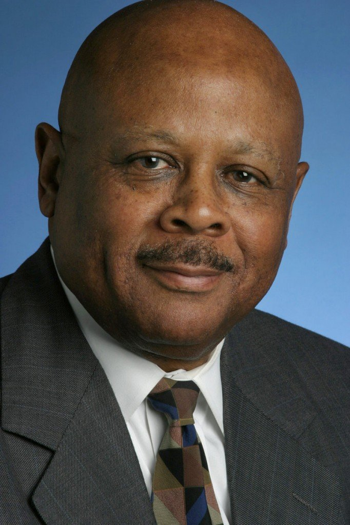 William Raspberry, seen in a 2004 file photo, won the Pulitzer for commentary in 1994, becoming the second black columnist to achieve the honor. His columns covered topics including urban violence, the legacies of civil rights leaders and female genital mutilation in Africa.