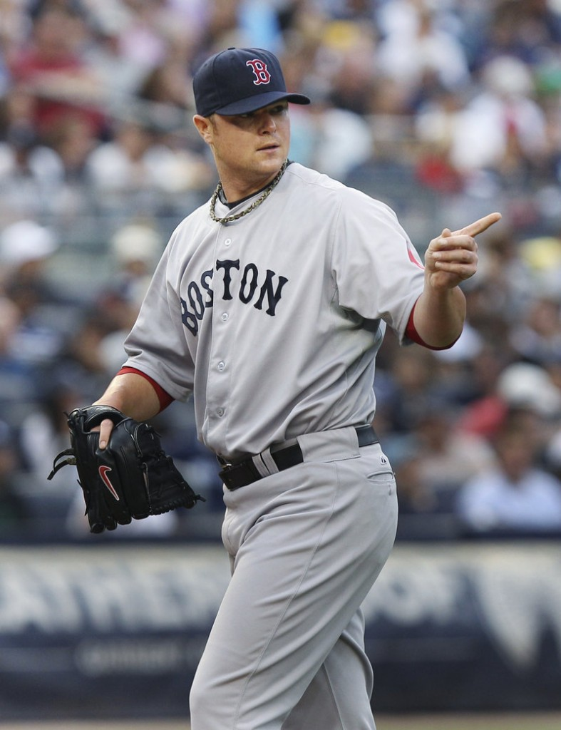 Jon Lester, trying to turn his season around for the Boston Red Sox, allowed four runs in six innings Saturday against the New York Yankees, striking out six.