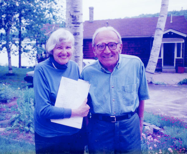Retirees, with their children grown, careers behind them, Lydia and Veselin Kesich look forward to time together in Maine, 1994.
