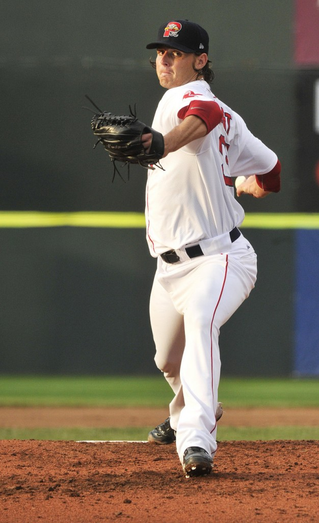 Jeremy Kehrt is 6-0 in his last eight starts for the come-alive Sea Dogs, with a 1.93 ERA in that stretch.