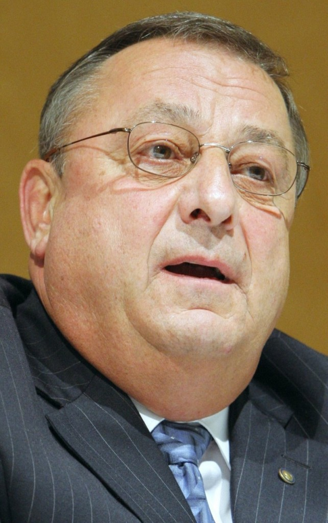 "Gov. LePage sees the Legislature as solely ""a rubber stamp for the executive,"" a reader says."