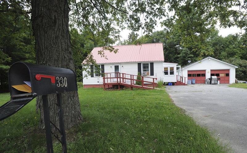 Nobody was home Friday at 330 Center Road in Fairfield, where police say an infant was killed by a 10-year-old girl in July.
