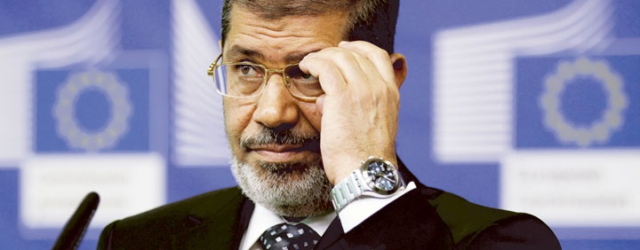 Egyptian President Mohamed Morsi may be told he can't have good relations with the West unless he prevents future attacks and stands up against Islamist radicals.