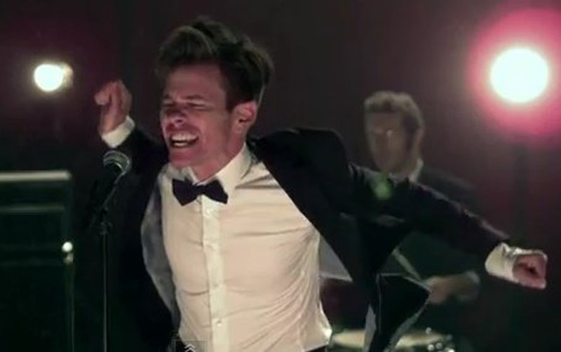Frontman Nate Ruess in the music video for